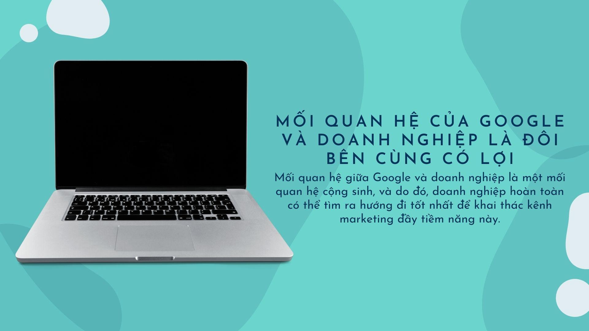 Nguyen Trung Ba noi ve moi quan he digital marketing giua Google va doanh nghiep 2